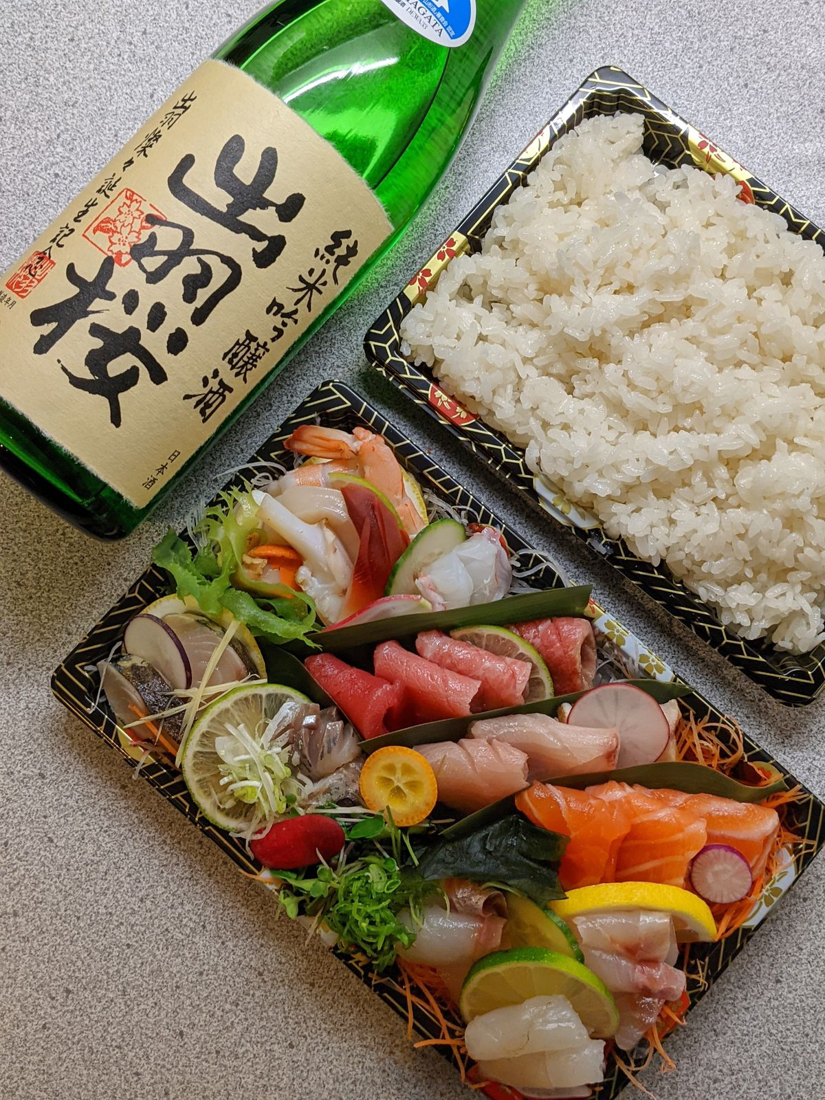 Sushi Tetsu, a meal kit available through Big Night. One of London's finest Japanese restaurants, which has been forced to close as a result of the coronavirus pandemic