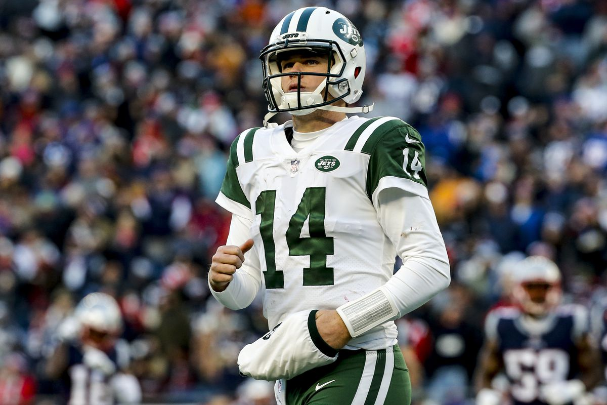 competitive price ab432 c8000 Jets QB Sam Darnold expected to miss Week 3 game against ...