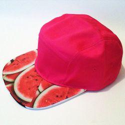 Aliens of Brooklyn watermelon five-panel cap, $45