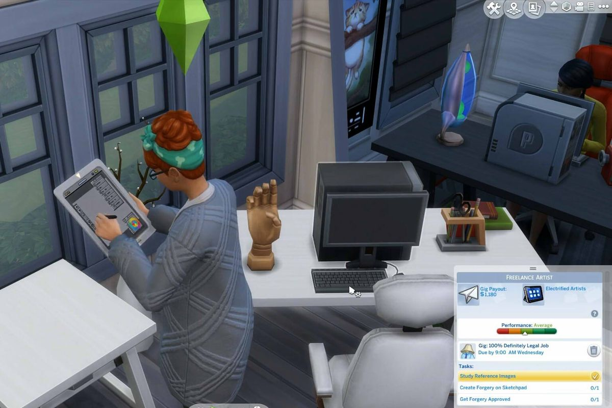 Free The Sims 4 update will add freelancer career, new outfits, and