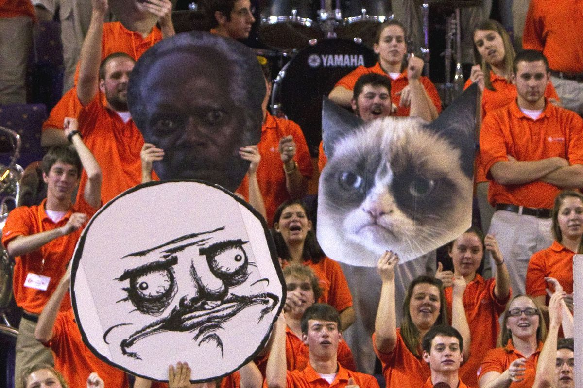This picture has nothing to do with Missouri, but I found it hilarious. Well done, Clemson.