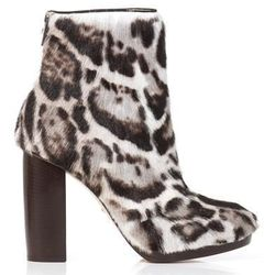"""<a href=""""http://www.matchesfashion.com/product/158086"""">Jaguar goat-skin ankle boots by Christopher Kane</a> $396.60 (were $1,656)"""