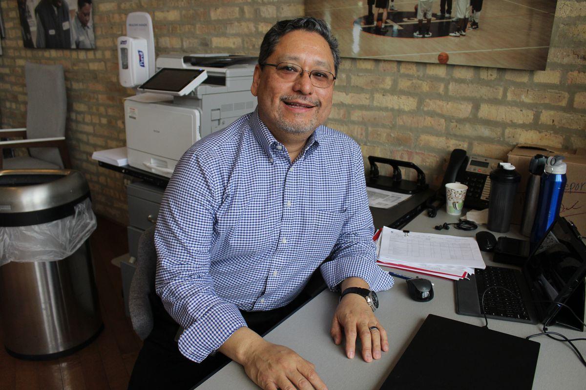 Richard Juarez.   Alexandra Arriaga / Sun-Times
