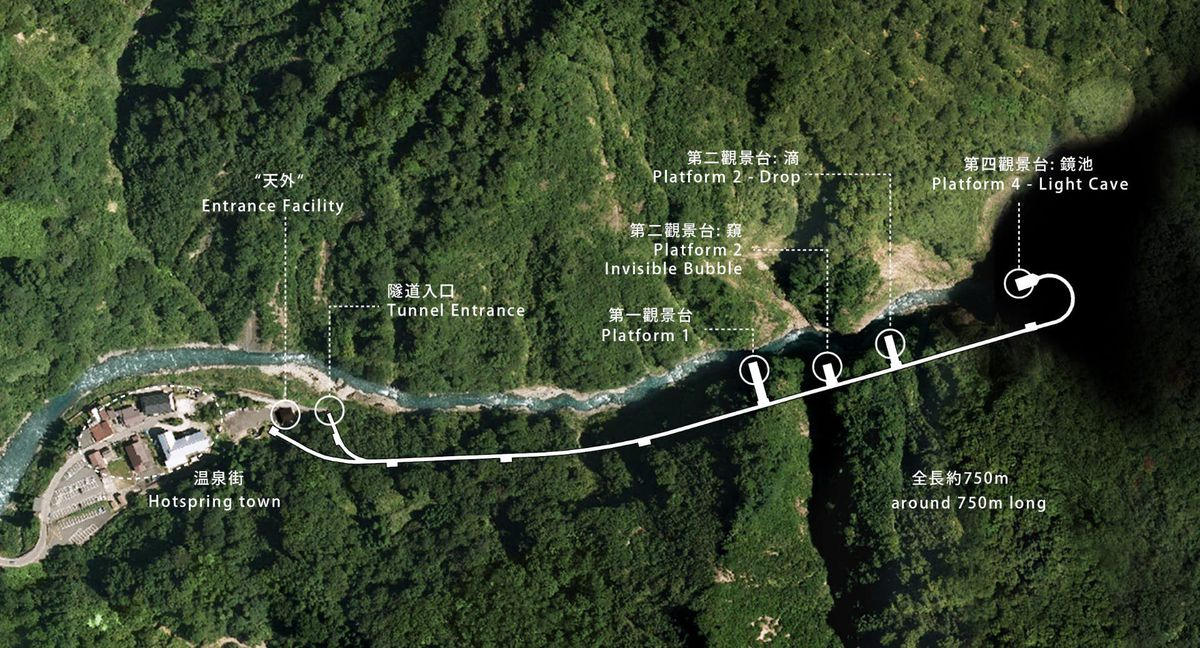 Map of tunnel
