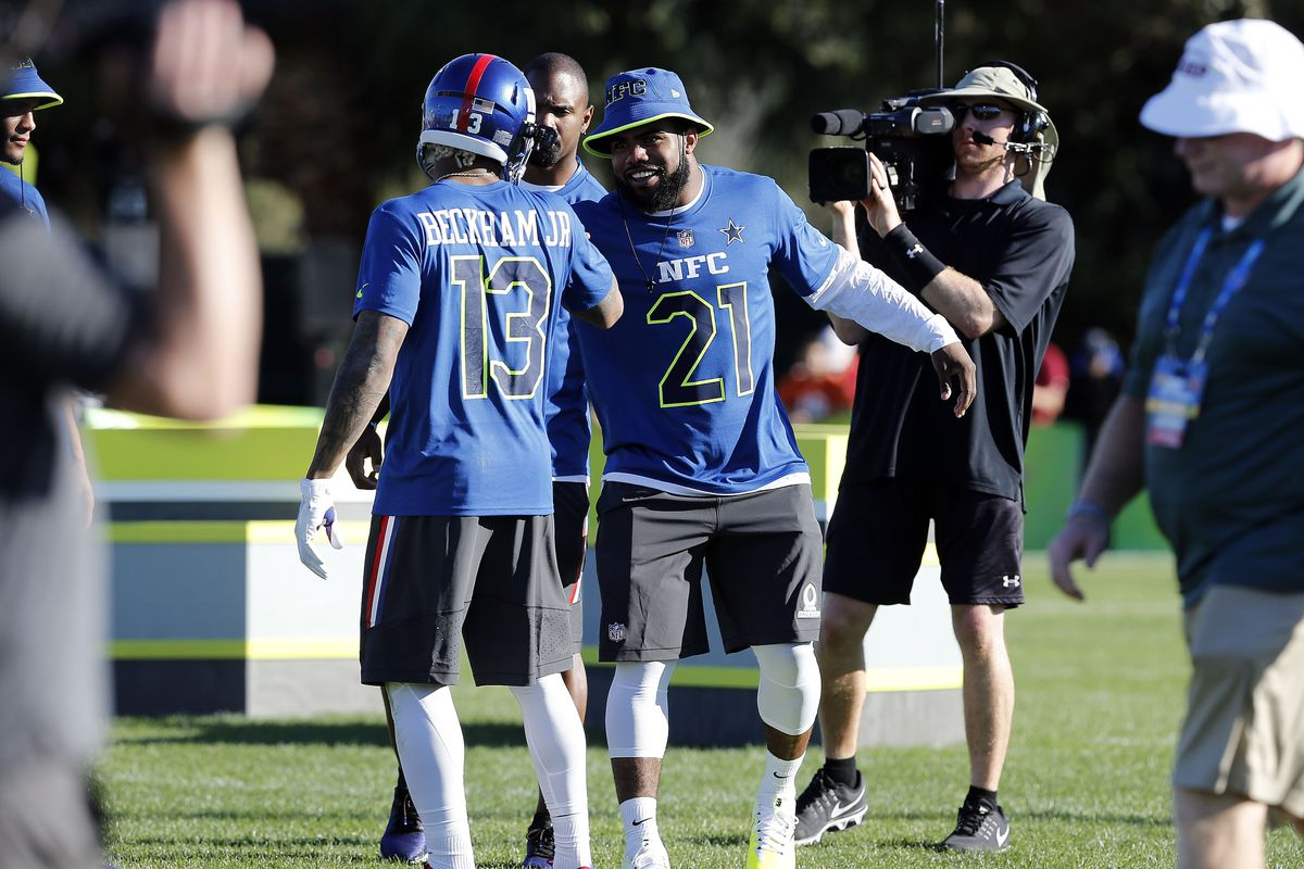 NFC Pro Bowl roster 2017  Ezekiel Elliott and Odell Beckham Jr ... f57584e39