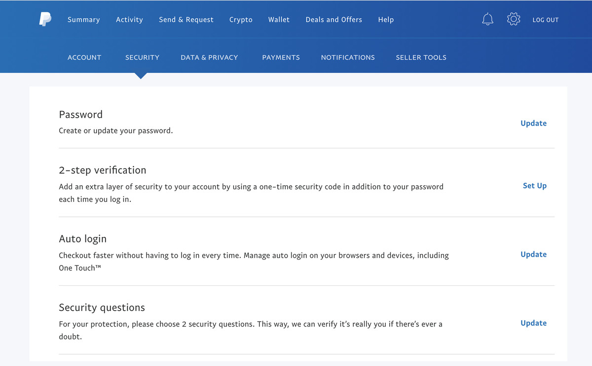 PayPal will offer to find an authenticator app if you don't have one.