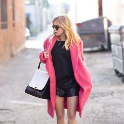 """Courtney of <a href=""""http://www.alwaysjudging.com""""target=""""_blank"""">Always Judging</a> is wearing an <a href=""""http://www.shoplesnouvelles.com/shop/jackets-coats/elizabeth-and-james-mohair-colton-coat.html?source=pjn&subid=73861""""target=""""_blank"""">Elizabeth and"""