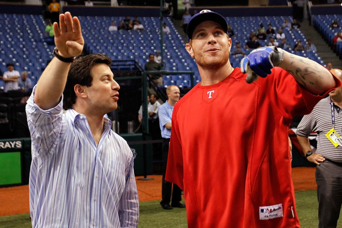 Remember when the Devil Rays drafted this guy?