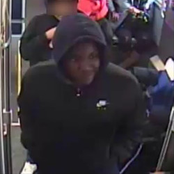 Chicago police are looking to identify two men wanted for allegedly firing shots at each other March 24, 2020, on a Red Line train in Chatham.