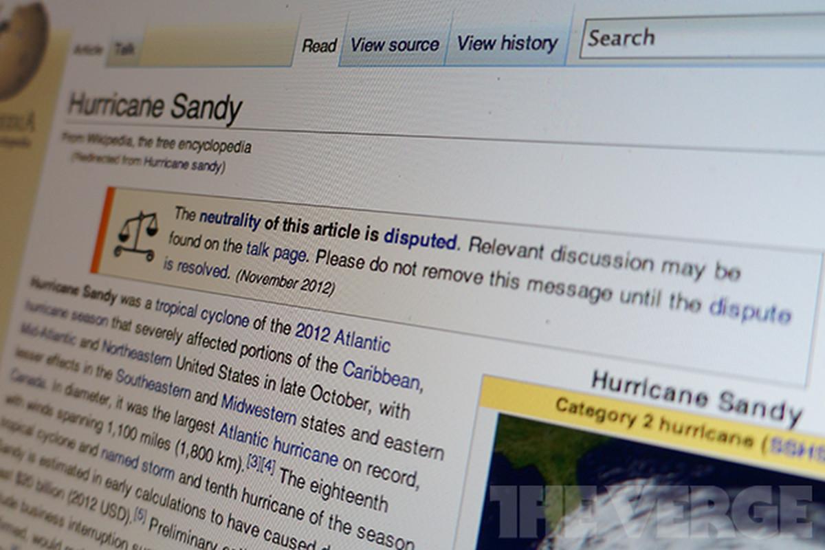 Hurricane Sandy wikipedia