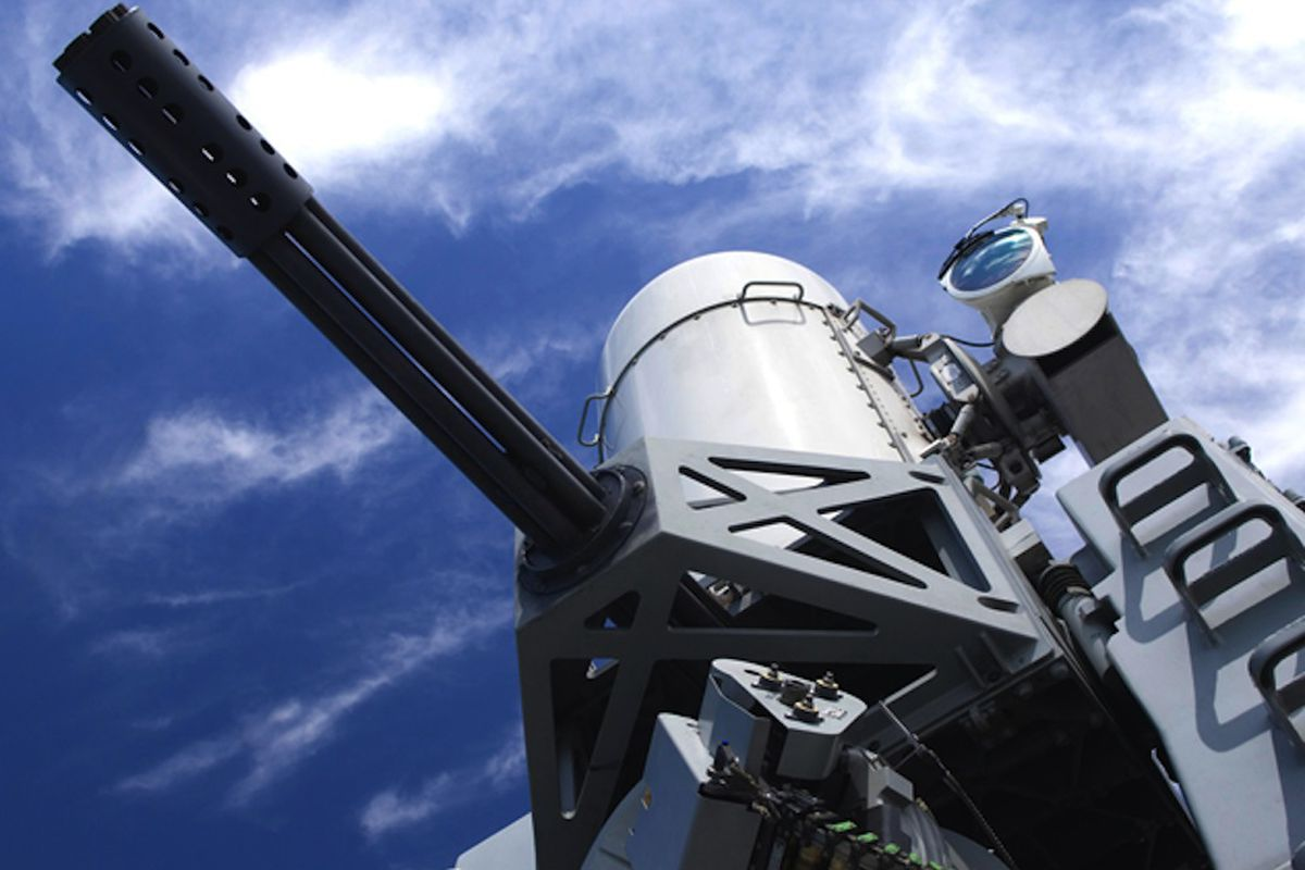 Raytheon Phalanx weapons system