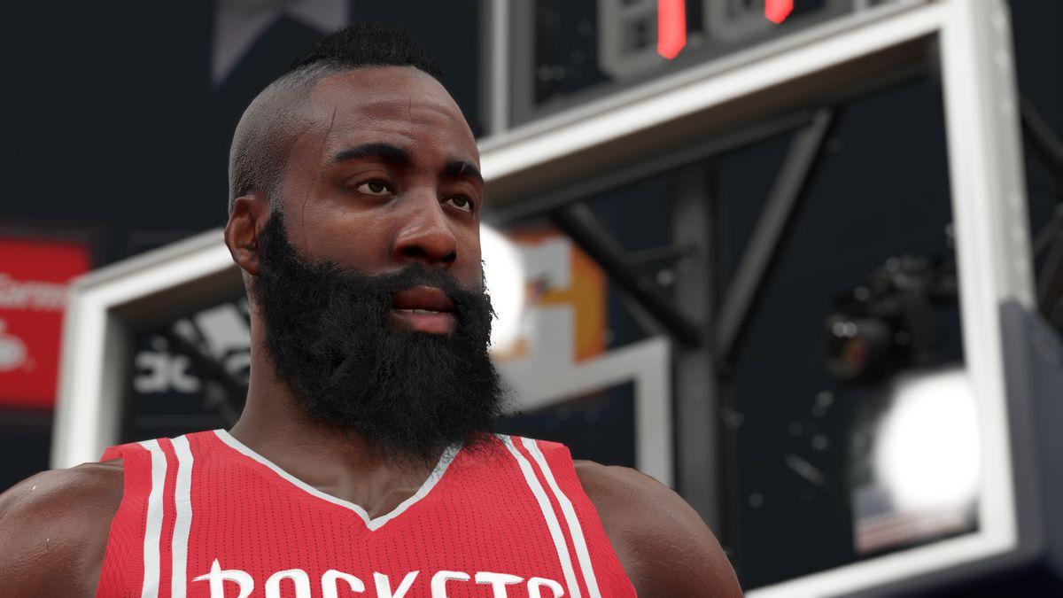 NBA 2K15 James Harden screenshot 1920
