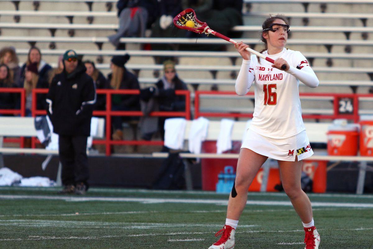 Maryland women's lacrosse Kali Hartshorn vs. George Mason