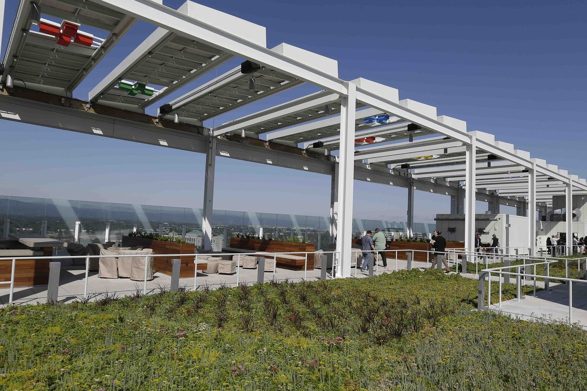 The NRG Solar Rooftop Deck at Levi's Stadium