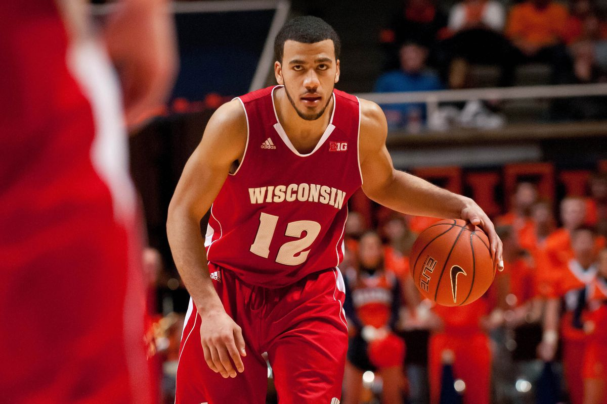 Traevon Jackson's big shot propelled the Badgers to victory on Sunday