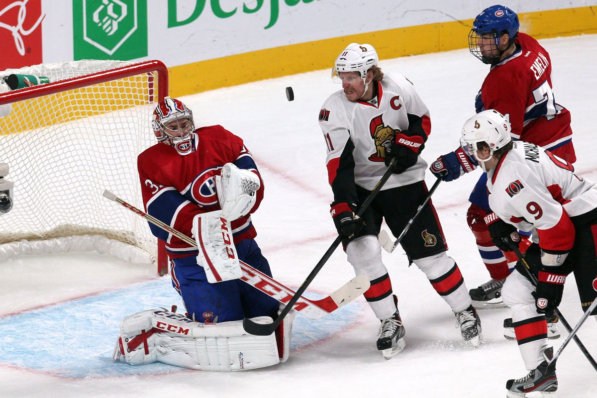 Carey Price's crippling fear of vulcanized rubber was bound to become a liability some day.