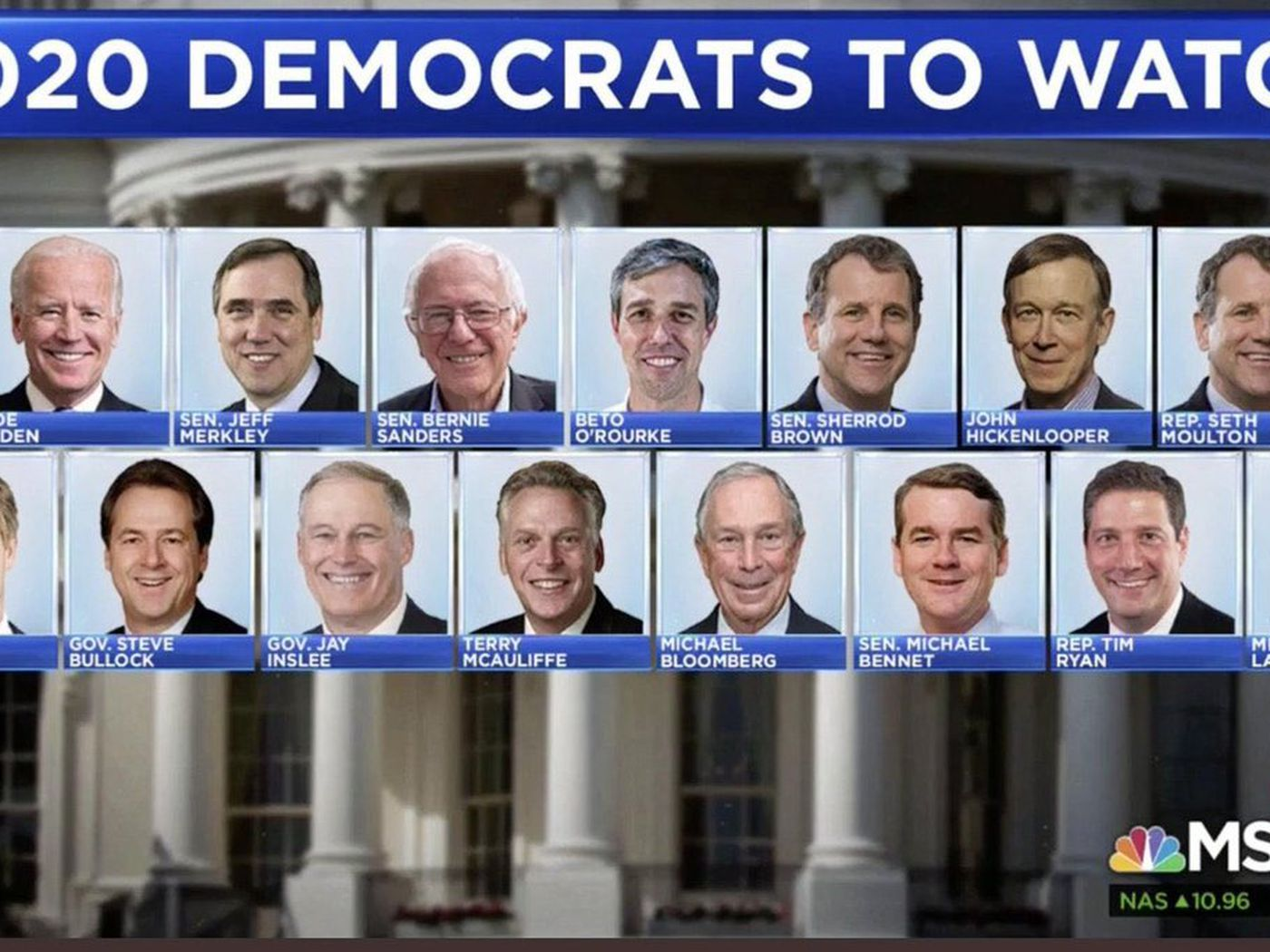 list of presidential candidates 2020