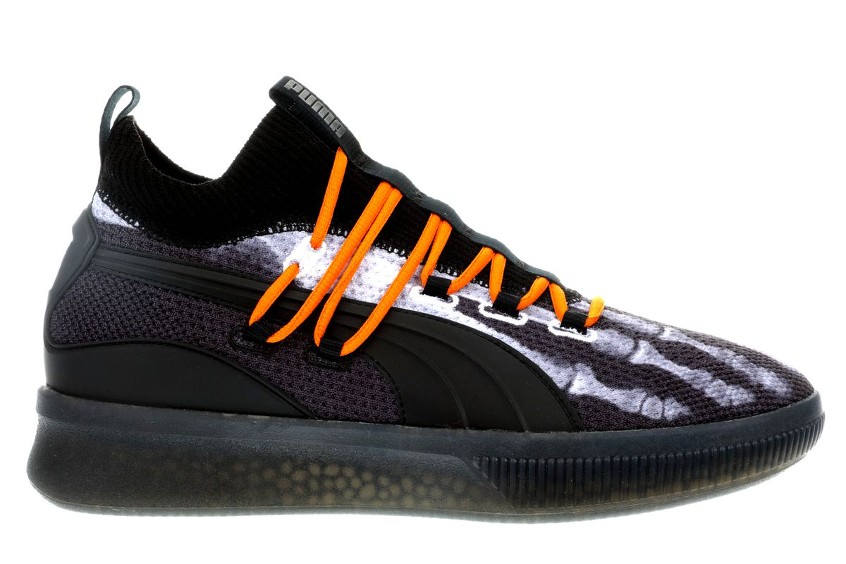Puma s second colorway is the Halloween-themed Clyde Court X-Ray ... 1e0bcdf83