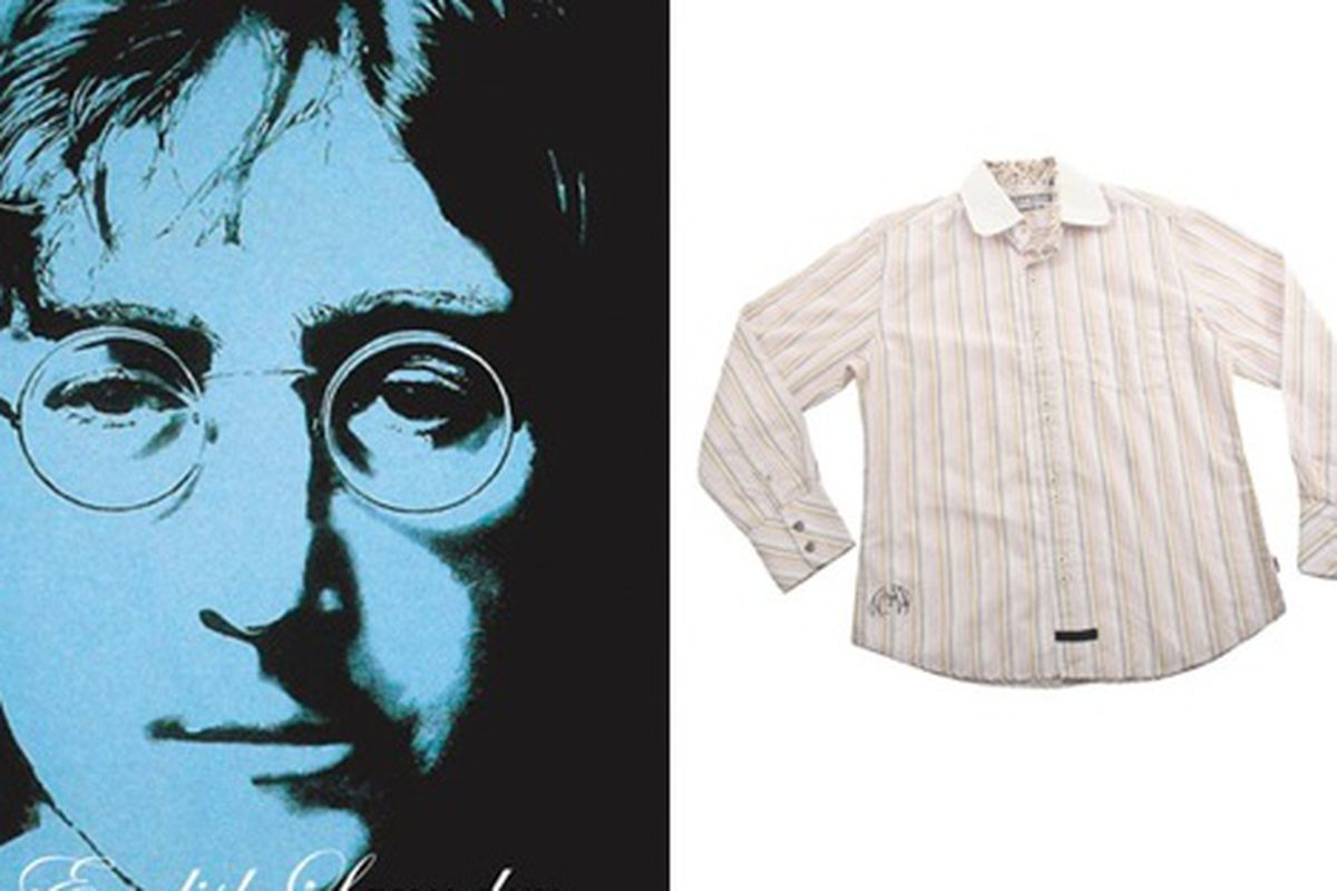 """Imagine the masses embracing these glasses and buttondowns. Image via <a href=""""http://www.stylesectionla.com/blog/2009/12/28/english-laundry-channels-the-eyes-of-lennon/"""">StyleSectionLA</a>."""