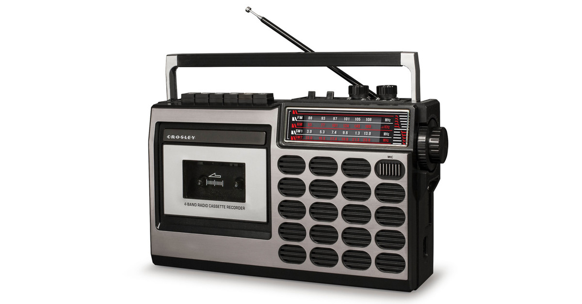 Crosley is bringing back retro cassette decks