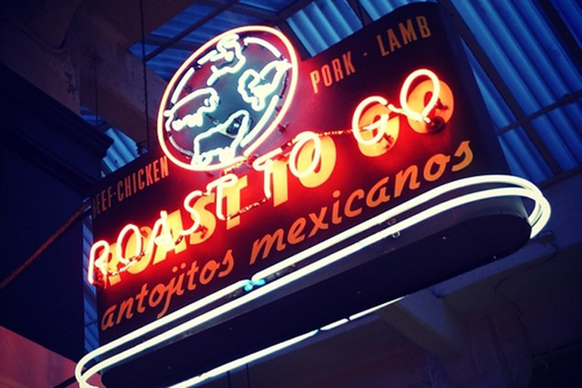 Roast To Go at Grand Central Market, Downtown.