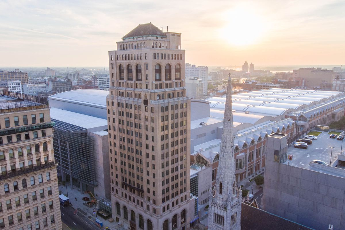 The Aloft Philadelphia Downtown Hotel Opens August 31 Photo By Philly Drone