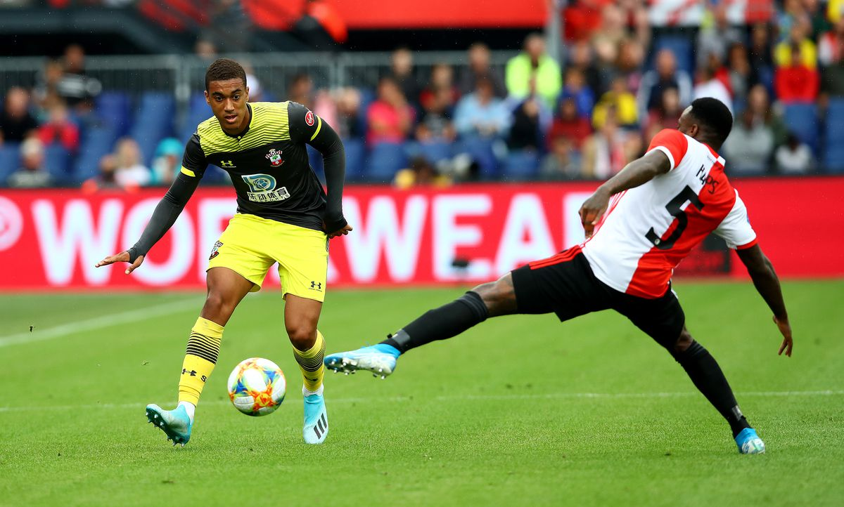Yan Valery is one of the Southampton academy players Ralph Hasenhuttl brought into the side last season
