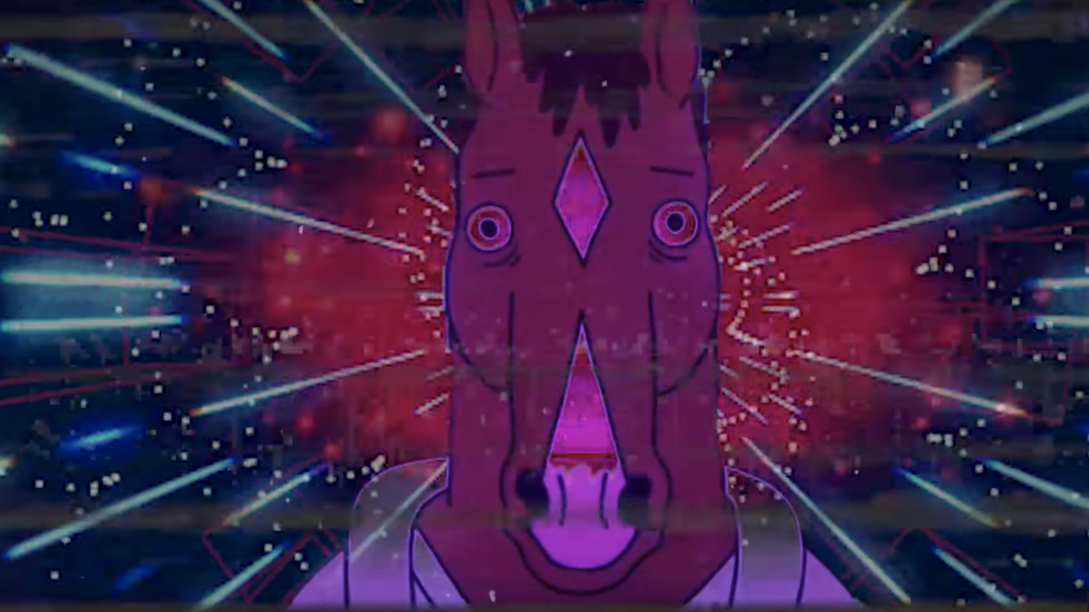 Youtube S New Vaporwave Scene Inspired By Rick Morty Bojack