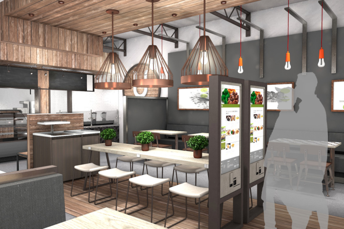 UFood Grill rendering