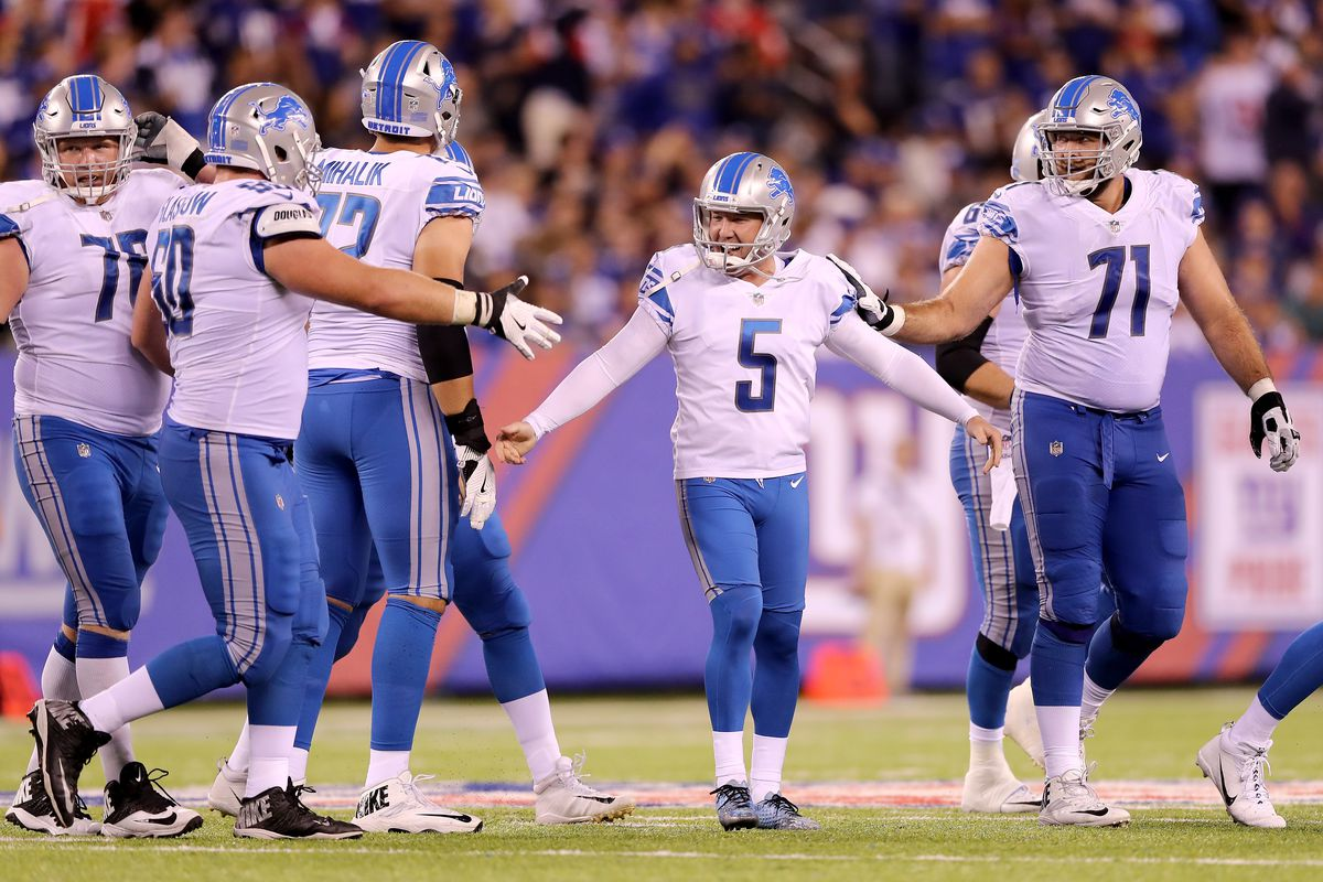 Ranking the 5 Detroit Lions uniforms from the 2017 season - Pride Of ... d72bc36d1