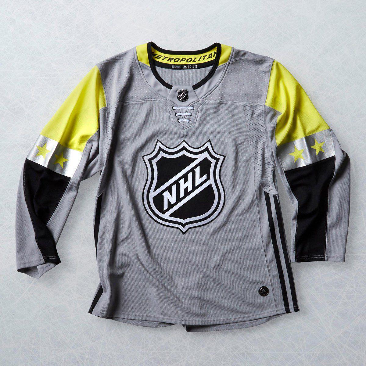 metropolitan division all star jersey