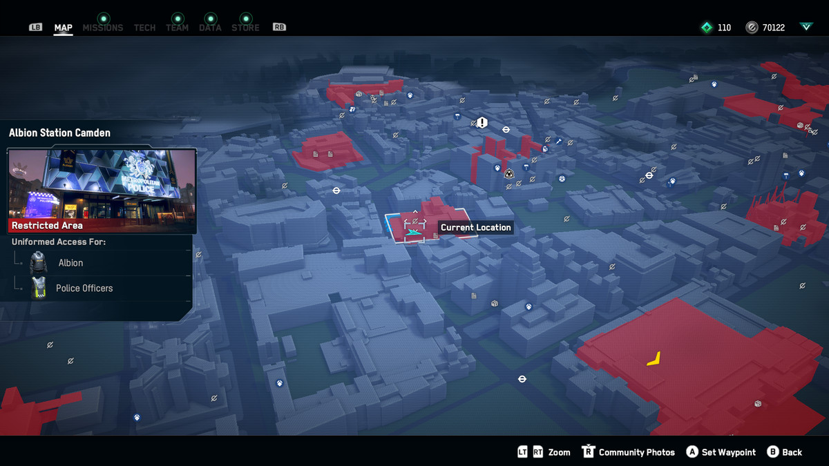 Watch Dogs Legion No Not the Bees Albion Station Camden