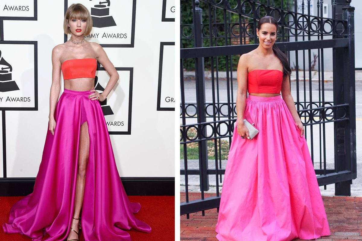 Taylor Swift's Grammys 2016 Dress Looks Way Too Similar to