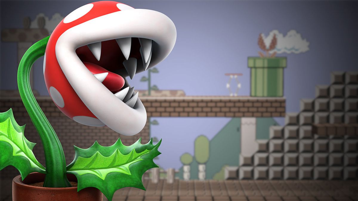 Piranha Plant in Super Smash Bros. Ultimate