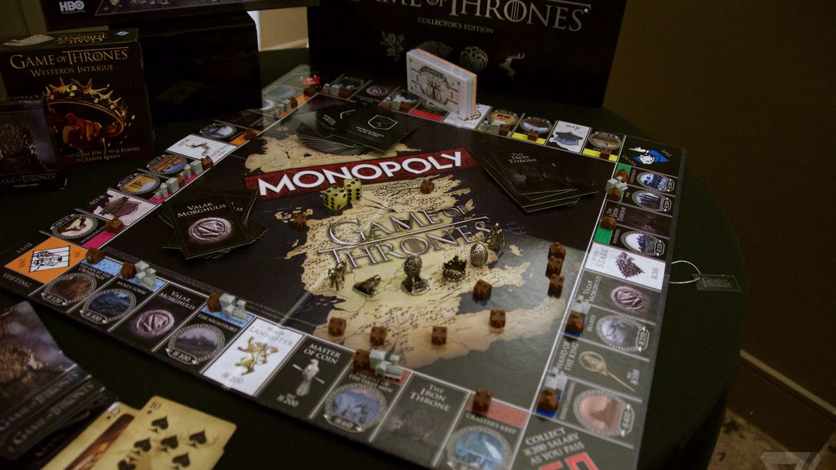 everything wrong with game of thrones monopoly the verge