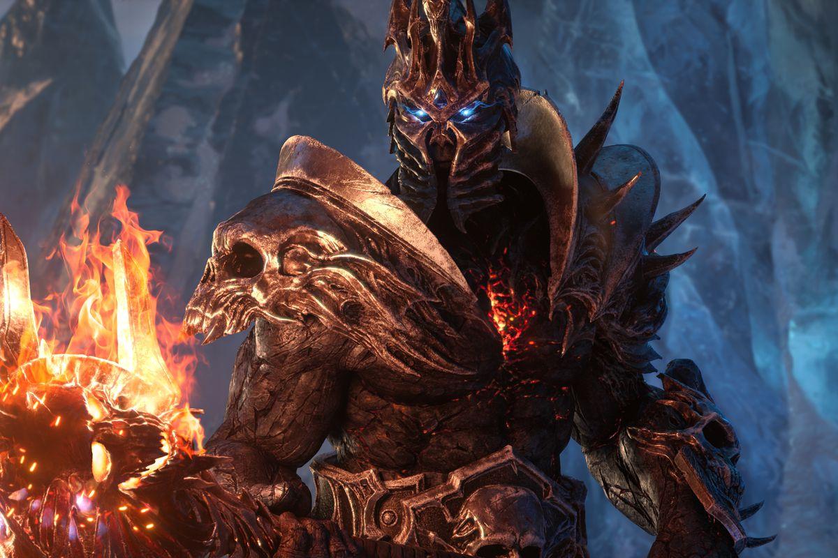 World of Warcraft: Shadowlands Bolvar Lich King