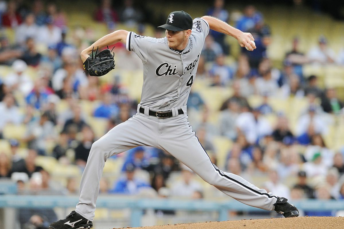 """""""Inverted W"""" and all, Chris Sale is becoming a very good major league starting pitcher."""