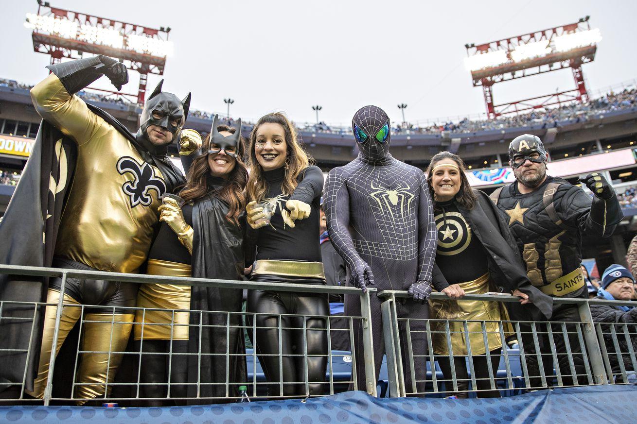 New Orleans Saints v Tennessee Titans