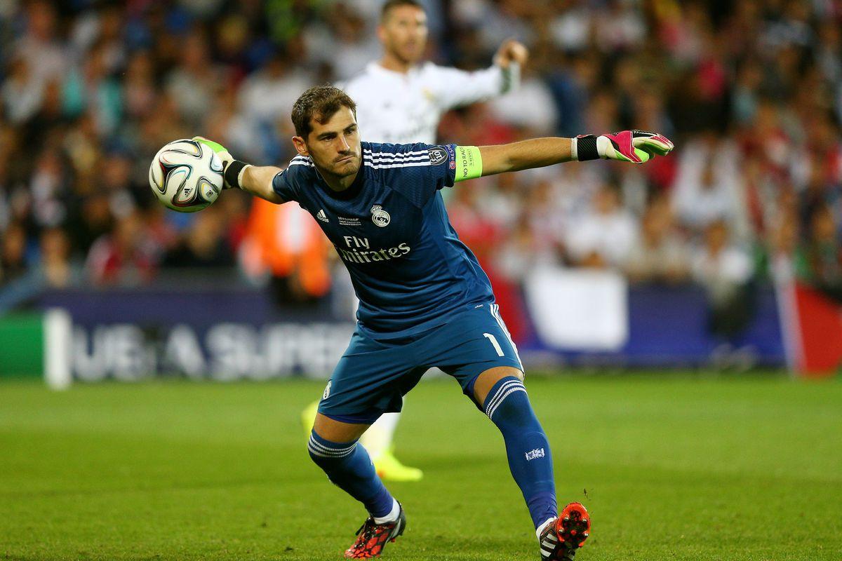 cc464cab6 Iker Casillas will be Real Madrid s starting goalkeeper in La Liga ...