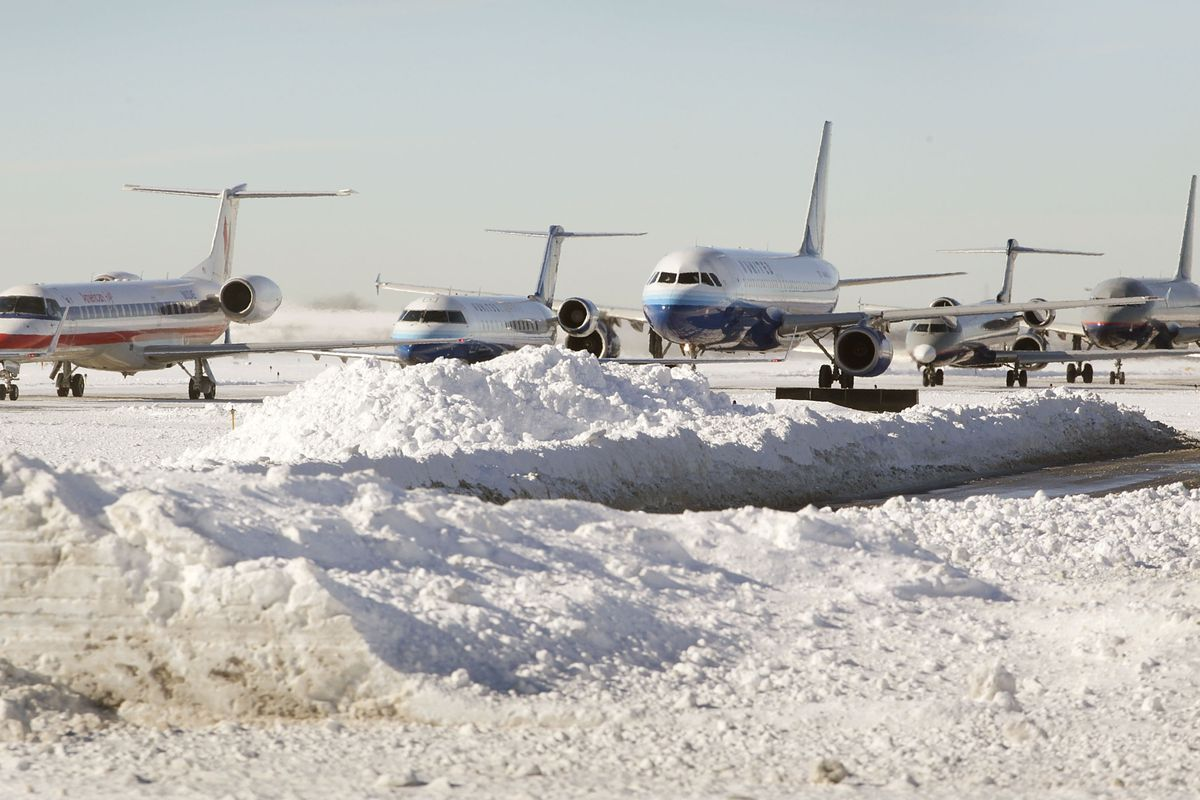 The 10 Airports Where Bad Weather Is Most Likely To Delay Your