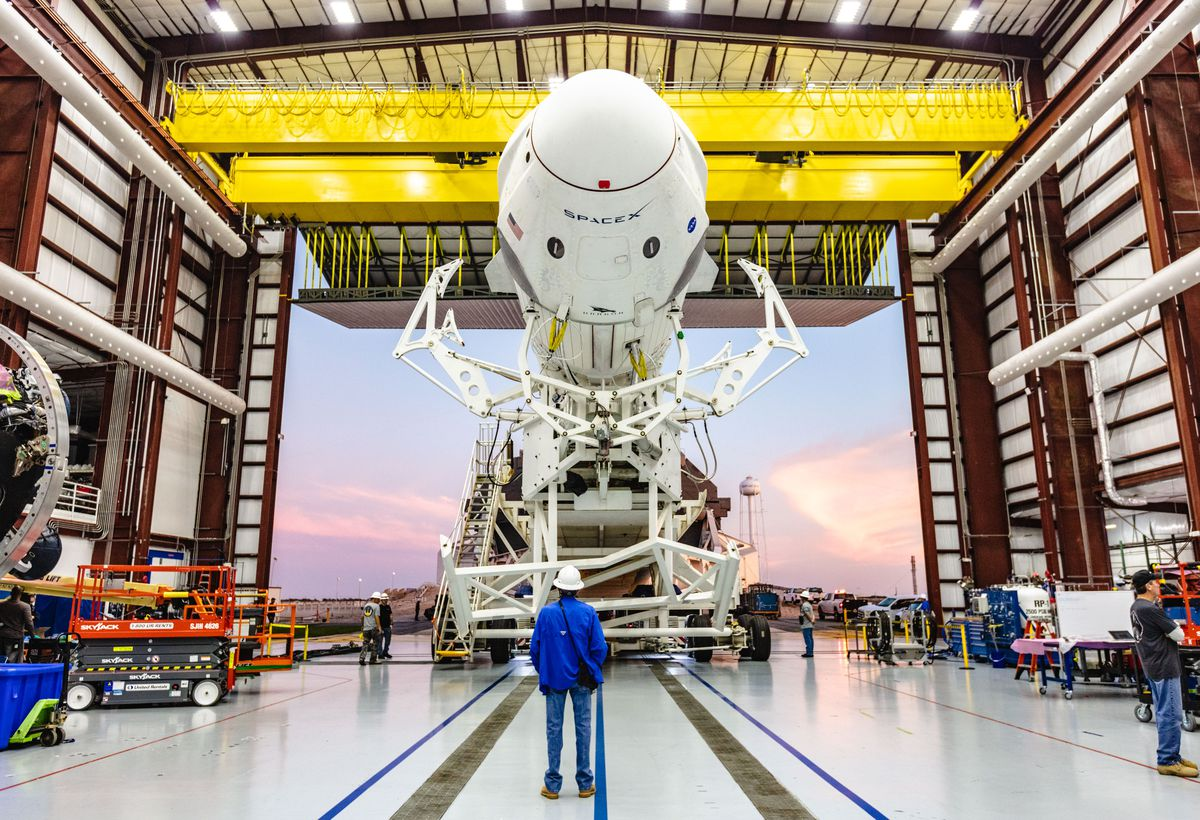 SpaceX will get NASA's okay to launch new spaceship on uncrewed take a look at flight - The Verge - verge, uncrewed, spacex, spaceship, launch, flight