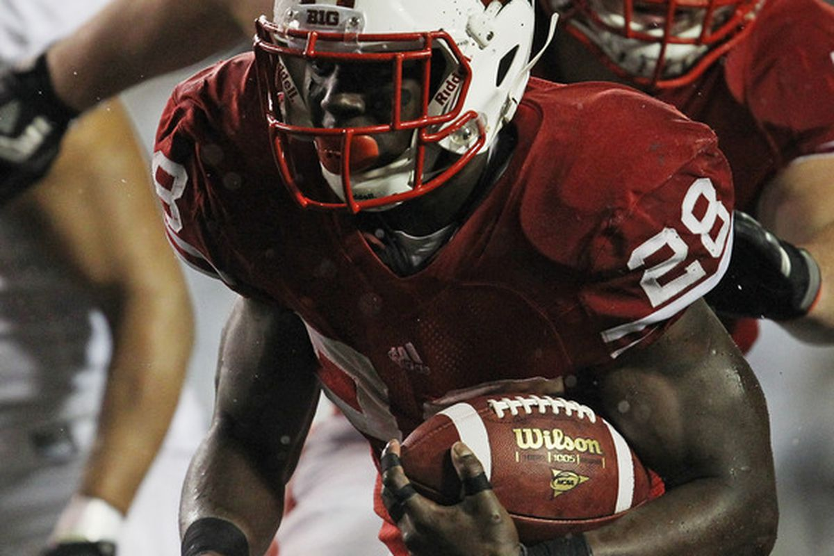 Fittingly, Montee Ball won the first-ever Ameche-Dayne Running Back of the Year Award.