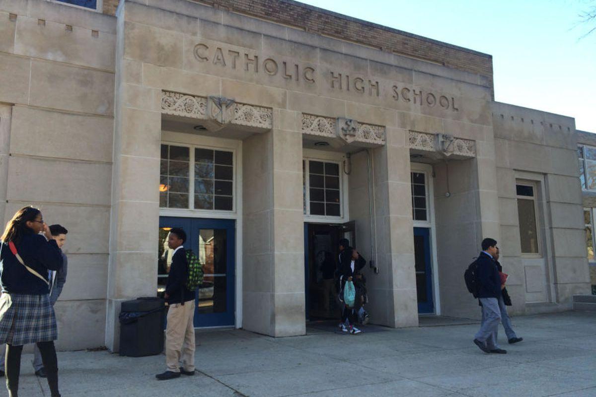 Memphis Catholic High School in 2016.