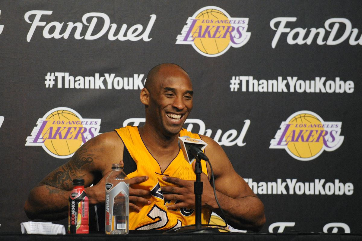 free shipping 47341 7823e Kobe Bryant gives new Lakers  GM Rob Pelinka a glowing endorsement