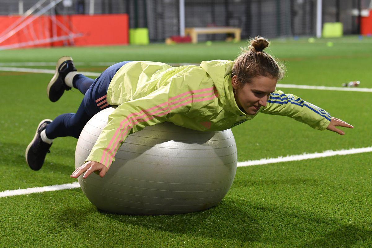 Arsenal Women Training Session