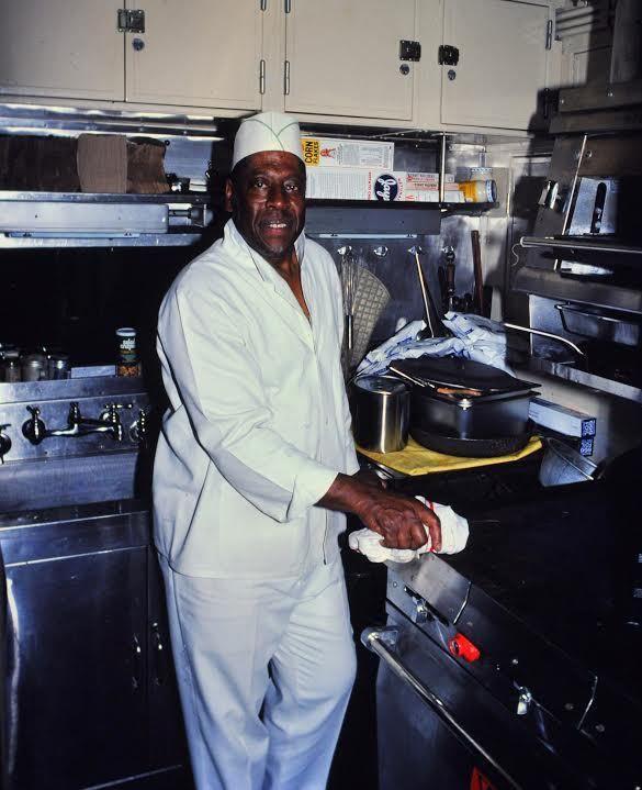 "Leland ""Sugar"" Cain was a top chef with the Chicago & North Western railroad.   Mark Llanuza"