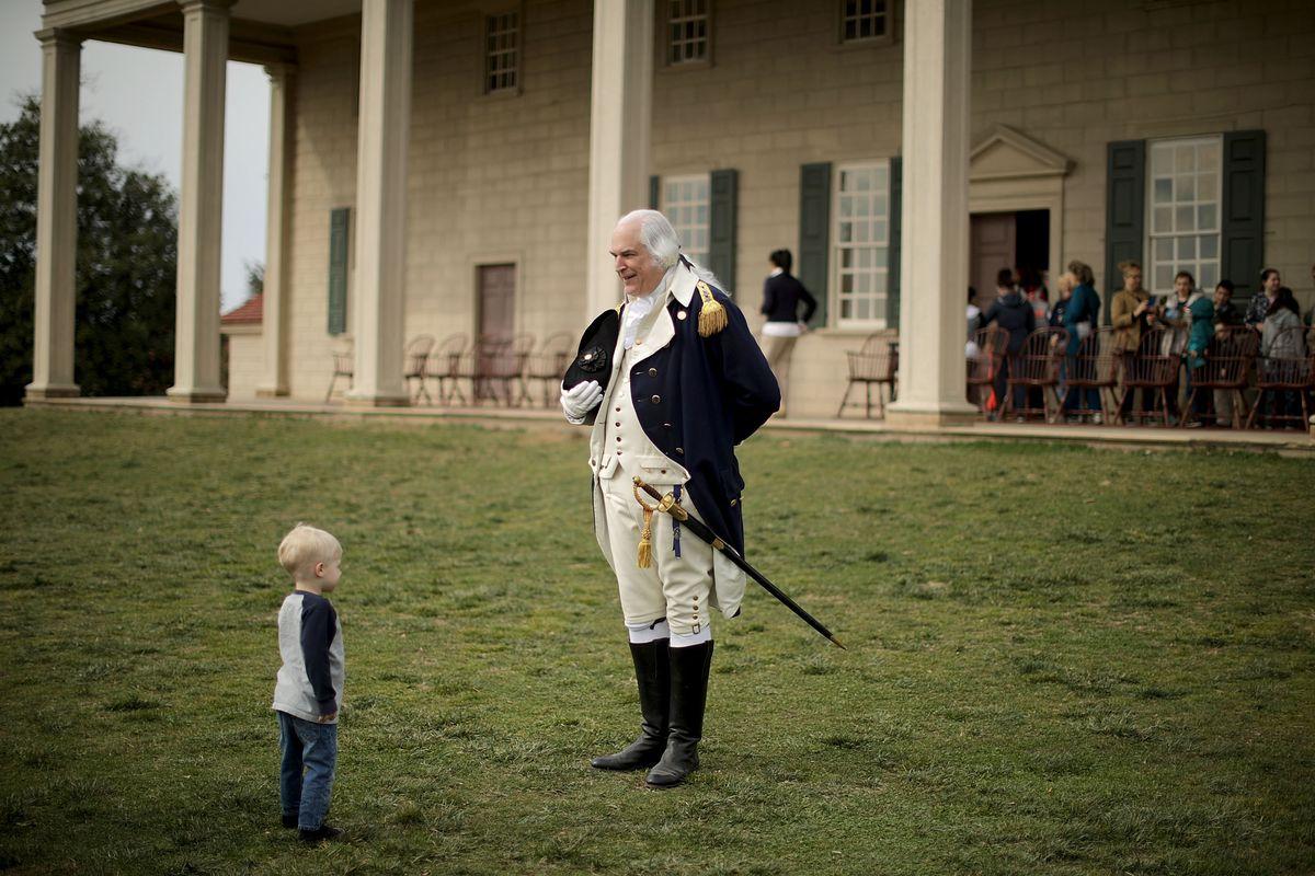George Washington's Birthday Celebrated Mount Vernon
