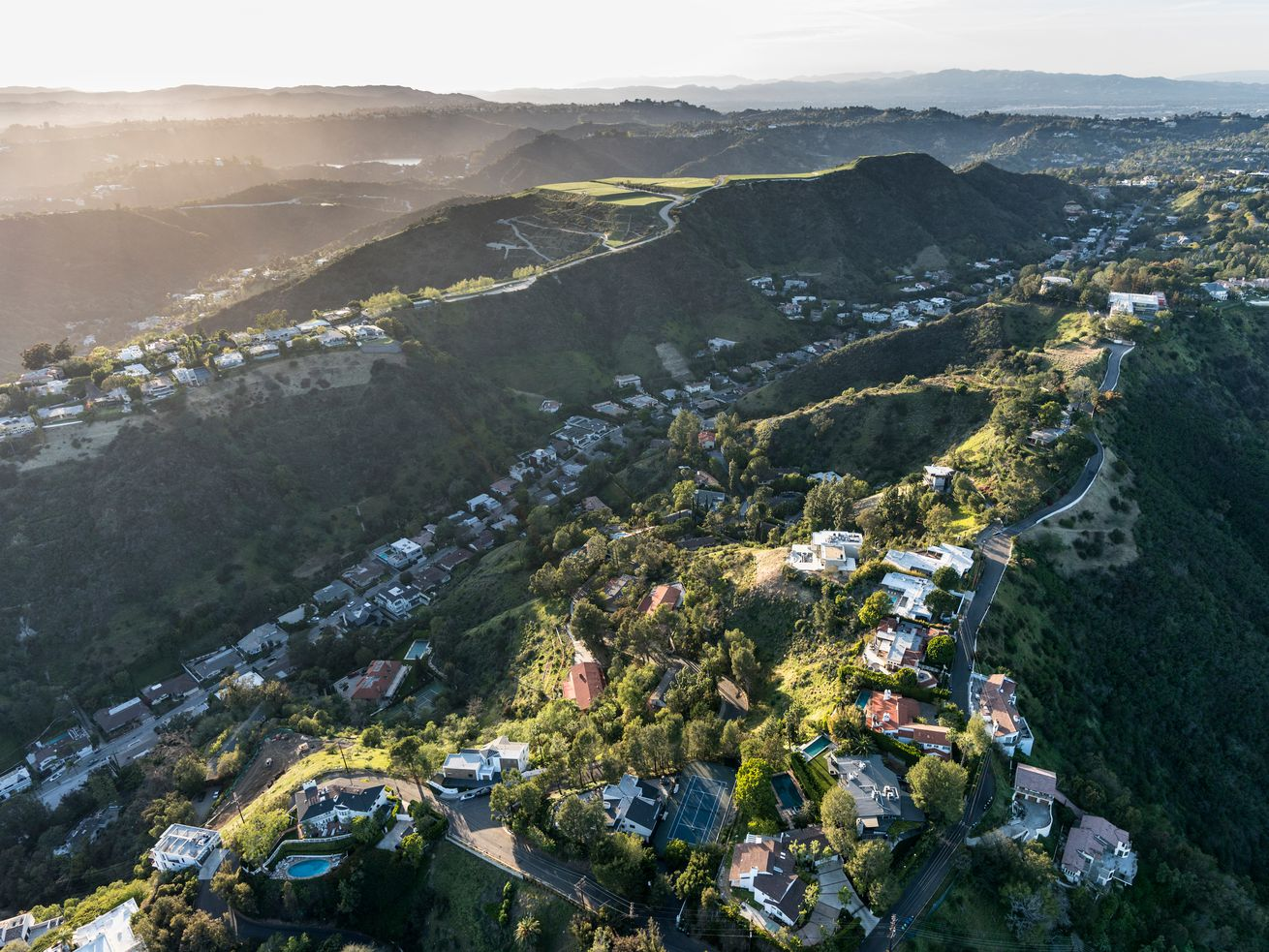 Most of LA's priciest sales have been recorded in Bel Air and Beverly Hills.