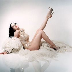 """You never forget your first time meeting <b>Dita Von Teese</b>. When we caught up with the burlesque star last year, we found out how she stays fit, what she wears to the gym, and <a href=""""http://sf.racked.com/archives/2014/01/06/dita-von-teese-dark-garde"""
