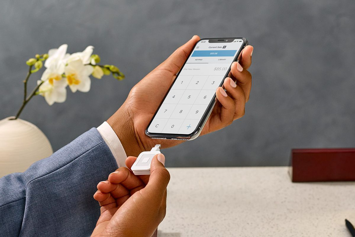 Square adds a lightning connector to its mobile card reader to image square reheart Image collections